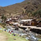 Peru – Huayhuash, les villages d'entrée (1)