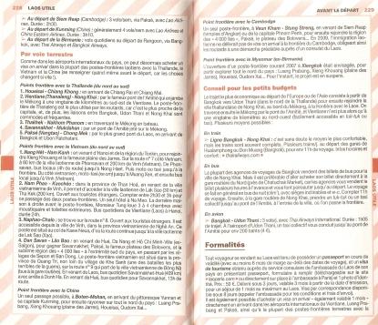Laos Le Routard Infos Generales 02