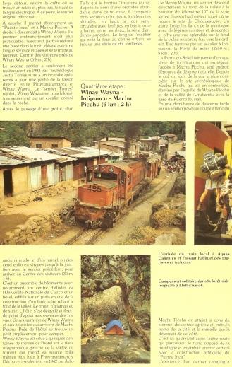 Peru 1989 Chemin Inca 10