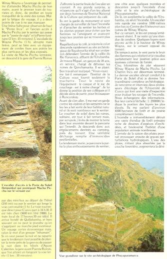 Peru 1989 Chemin Inca 11