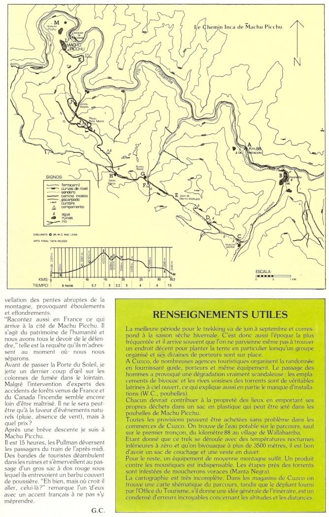 Peru 1989 Chemin Inca 12