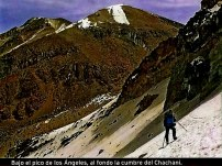 Cordillera Arequipa ascencion Chachani bajo los angeles