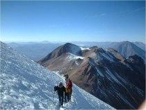 Cordillera Arequipa ascencion Chachani montee sommet