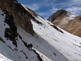 Cordillera Arequipa ascencion Chachani traversee los Angeles