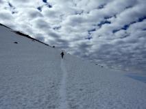 Cordillera Arequipa ascencion Chachani traversee sur pentes de Fatima 2