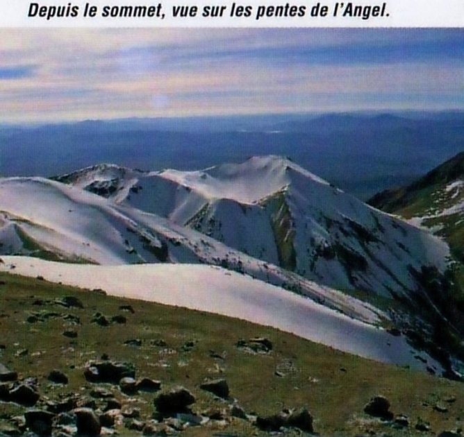 Cordillera Arequipa ascencion Chachani vue pentes angeles
