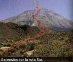 Peru – cordillera de Arequipa – El Misti (5822m)