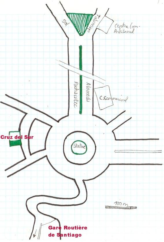 Cuzco plan terminal terrestre bus