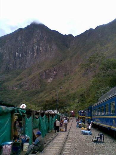 HydroElectrica llegada del tren