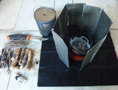 rechaud bois leger 10 cendres