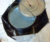 rechaud bois leger 8 eau bouillante