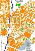 Perou – Arequipa, transport et agences