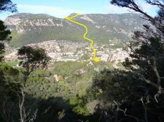 03 P1020397 montee sa comuna vue valldemossa-pla des pouet