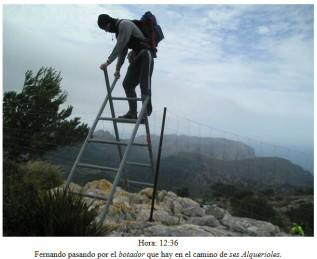 05 P1020467 ses alquerioles passage 2eme barriere 2010