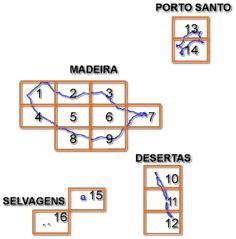 Madeira 25,000 Topo Index - 65-20735