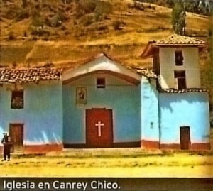 Trekking Olleros Chavin Iglesia Canrey Chico