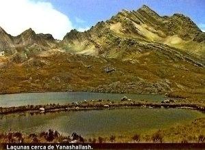 Trekking Olleros Chavin lagunas Yanashallash