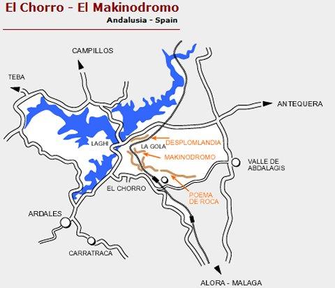 camino del rey map
