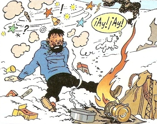 captain haddock backpacker