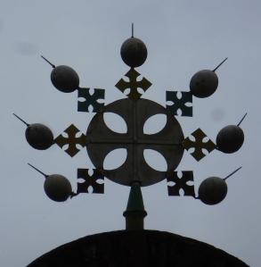 Gondar Eglise Debre Birhan Selassie 04 croix
