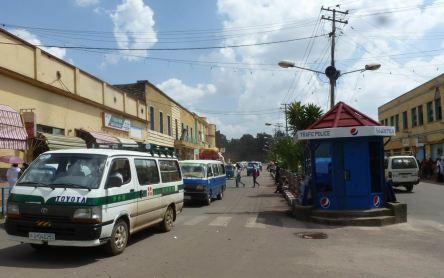 Gondar place 02 rue devant Ethiopia Hotel
