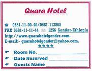 Gondar Quara Hotel 06 Resto