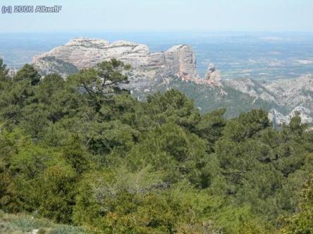 11-Coll de Ginjolers vue des Roques de Benet