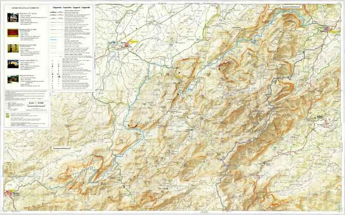 Espagne Estells del Sud 25000 Nord