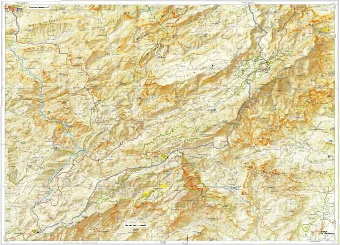 Espagne Estells del Sud 25000 Sud