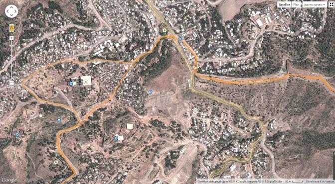 Ethiopie Lalibela ville
