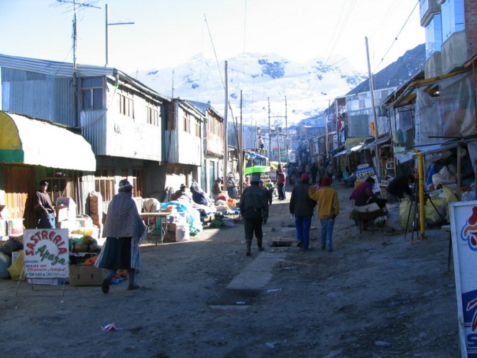 Peru - Rinconada highest town on Earth  the Peruvian Yungas