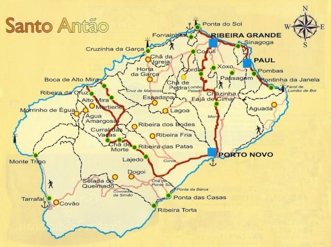 Santo-Antao carte petite