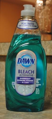 Sawyer Filter Parts Bottle for dishwashing detergent