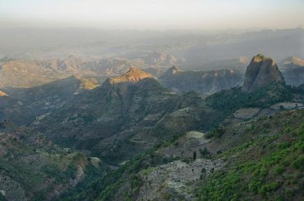 Simien 0 Panorama de Tirf 2