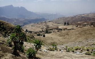 Simien 10 Addis Alem vue village Sona