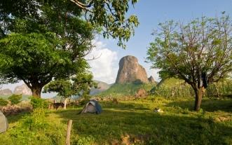 Simien 17 Mulit campsite