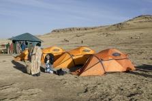 Simien 4 Geech camp tentes