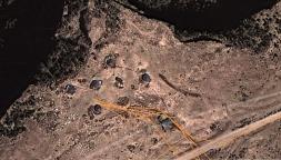 Simien 8 Chenek campsite map