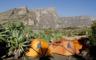 Simien 8 Chenek campsite tentes