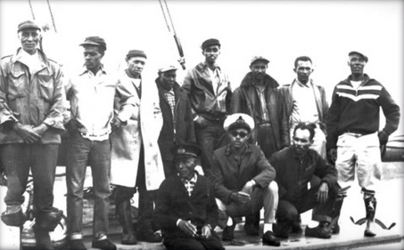 1964-Ernestina shooner crew