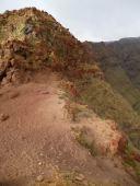 CaboVerde2013-A-23 Tarrafal Chemin Tope Coroa chemin crete bivouac