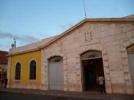 CaboVerde2013-X-14 Mindelo Centre culturel entree