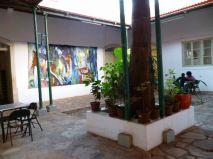CaboVerde2013-X-16 Mindelo Centre culturel Patio