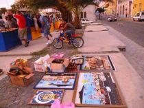 CaboVerde2013-X-25 Mindelo Feria dimanche stands