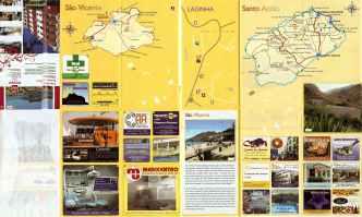 CaboVerde2013-X-99 Mindelo Plan publicitaire verso
