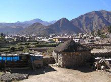 Canyon Colca Cabanaconde sorte ouest