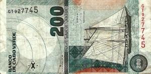 Cap-Vert 200 escudos
