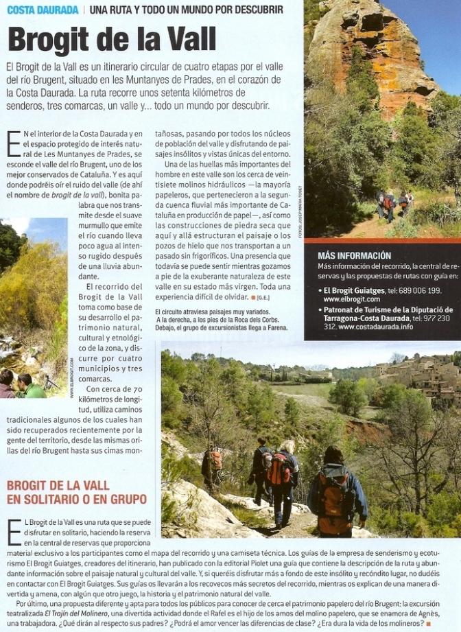 España - Siurana Brogit de la Vall