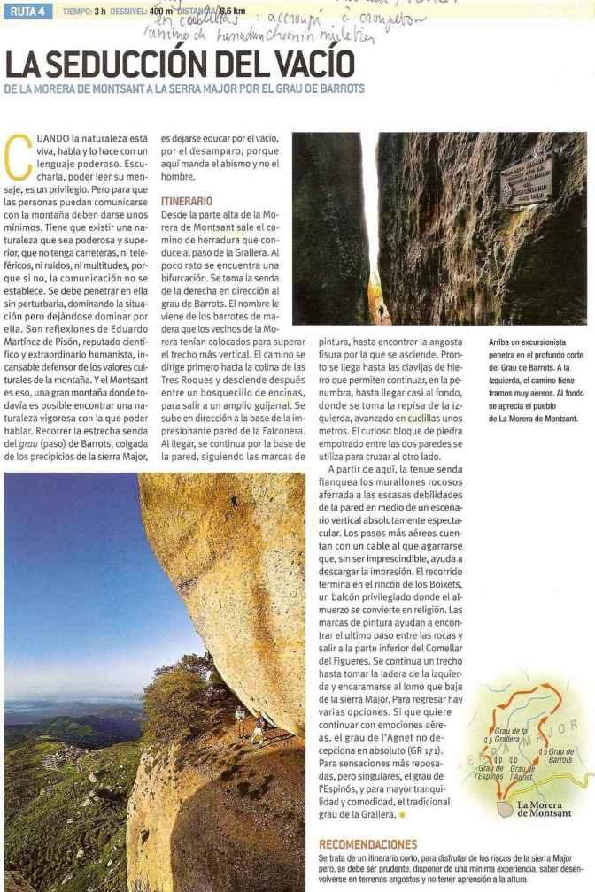Espagne - Montsant Ruta 4 Seduccion del Vacio