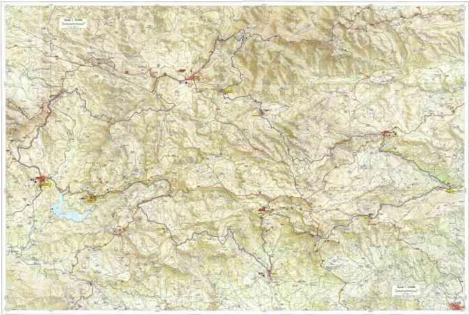 Espagne - Ruta dels Refugis Carte 25000